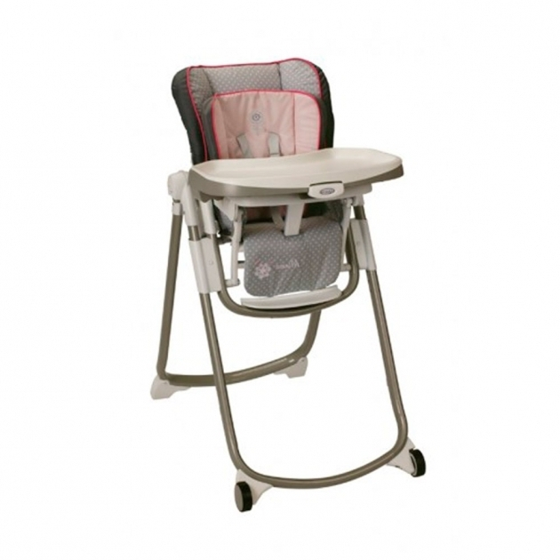 Graco Slim Spaces High Chair Minnies Garden Images 65