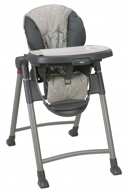Graco Slim Spaces High Chair Swift Fold Lx High Chair Mason Photo 48