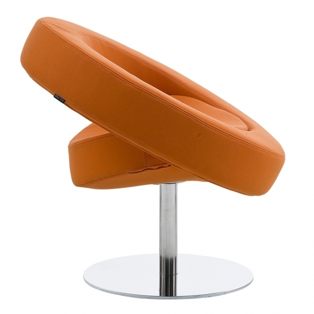 Hello Sessel Orange Swivel Chair Seite  Picture 59