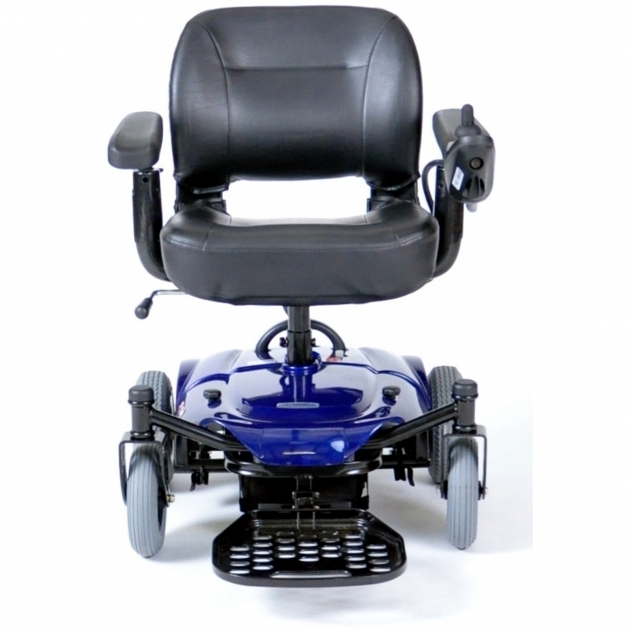 Motorized Office Chair Drive Medical Cobalt Travel Power Wheelchair Blue Images 81