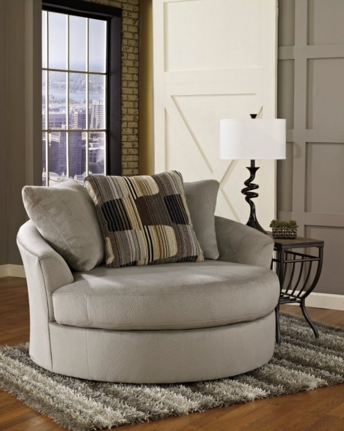 Oversized Swivel Accent Chair Living Room Picture 93