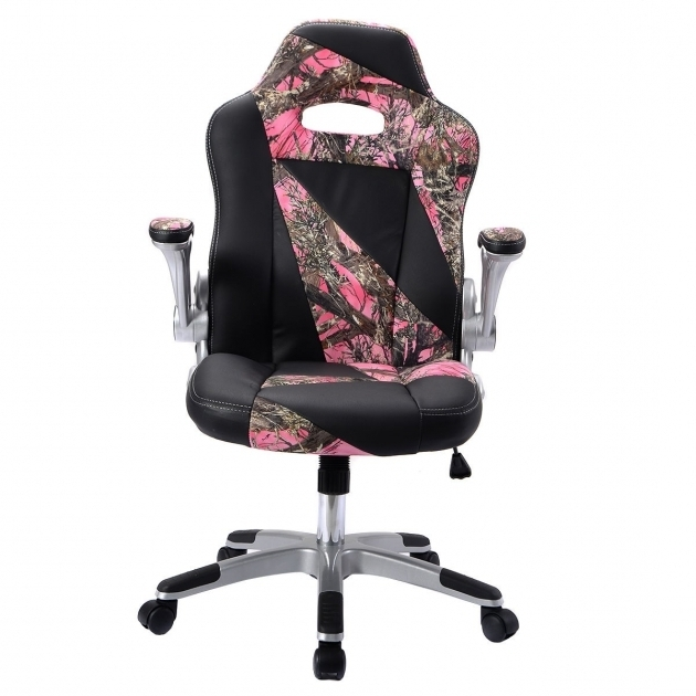 Pu Leather Camo Office Chair High Back Executive Office Desk Picture 30