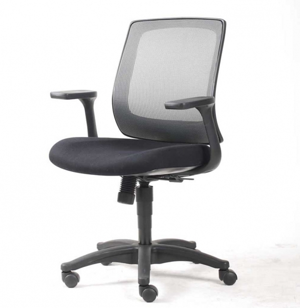 Small Office Chairs On Wheels Black Simple Design Models Photo 03