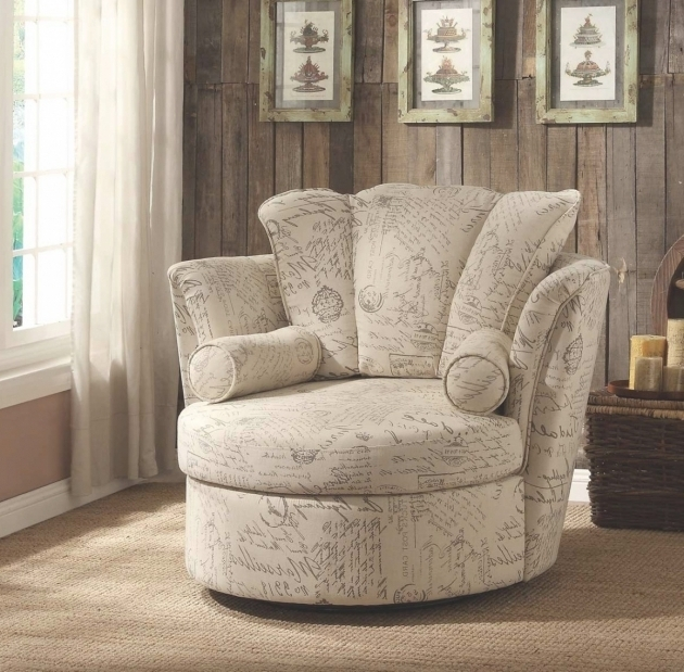 Swivel Accent Chair With Arms Design Ideas Photos 30