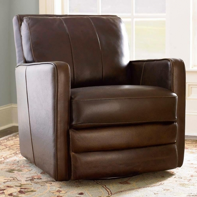 Swivel Recliner Chair Leather Photos 89
