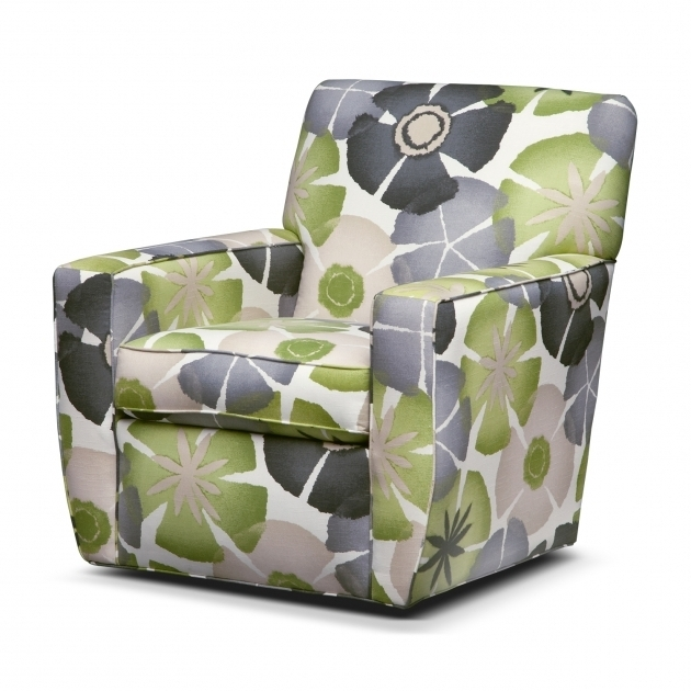 Sylish Swivel Accent Chair With Arms Living Room Photos 22