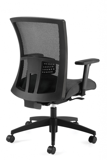Vion Mesh High Back Global Furniture Task Office Chair Weight Sensing Synchro Tilter Chair Photo 73