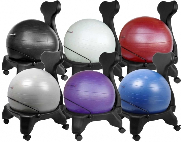Adjustable Back Exercise Yoga Ball Office Chair Pictures 12