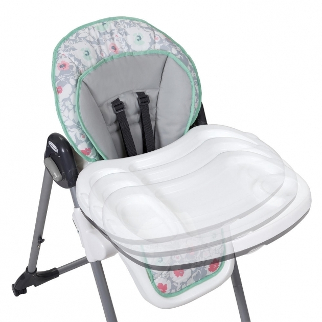Baby Trend Tempo High Chair Floral Pop PTRU1 23021654 Photos 30