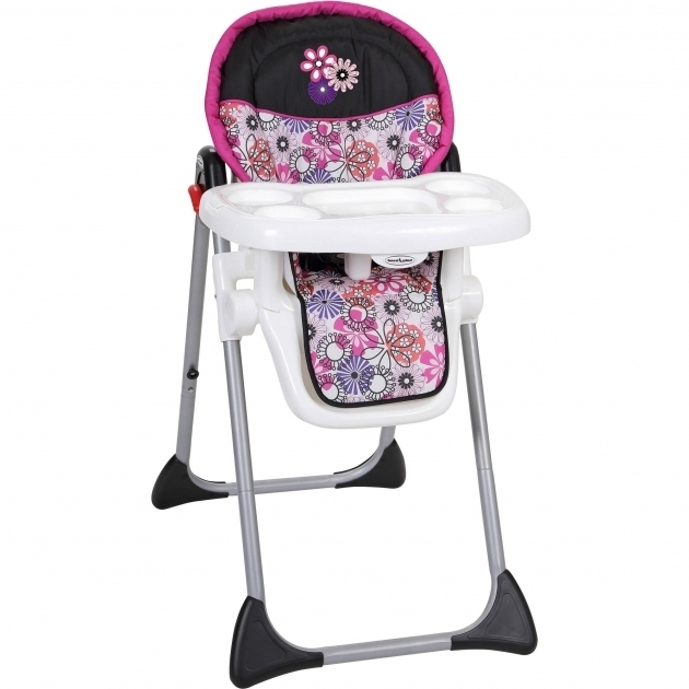 Baby Trend Tempo High Chairr Floral Top Pictures 24