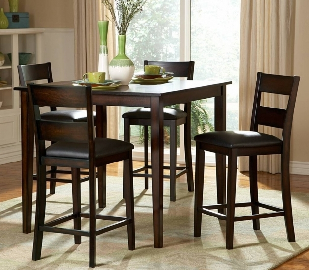 High chairs for small spaces chair design - High top dining tables for small spaces collection ...