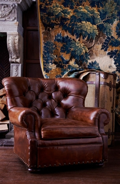 Distressed Leather Club Chair Ideas Picture 00