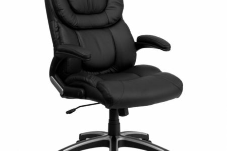 Realspace Fosner High Back Bonded Leather Chair