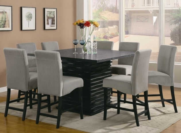 Gray Kitchen Table And Chairs  With Area Rug Wood Set With Flowers  Images 18