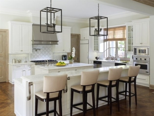 High Chairs For Kitchen Island With Elegant Kitchen Decoration Photos 87