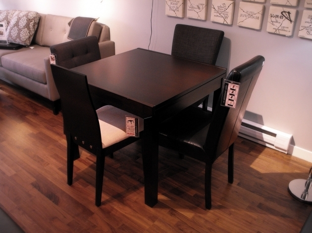 High Chairs For Small Spaces With Small Black Dining Room Table Photos 61