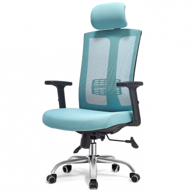 High Rise Teal Office Chair Grade HQ Image 86