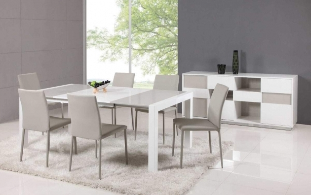 Modern Gray Kitchen Table And Chairs Home Interior Design Image 94