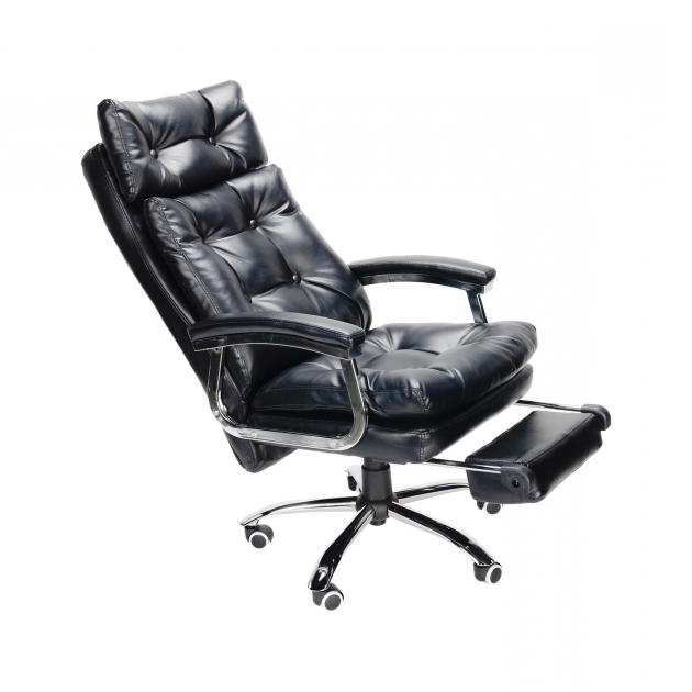 Reclining Office Chair With Footrest And High Backrest Photo 85