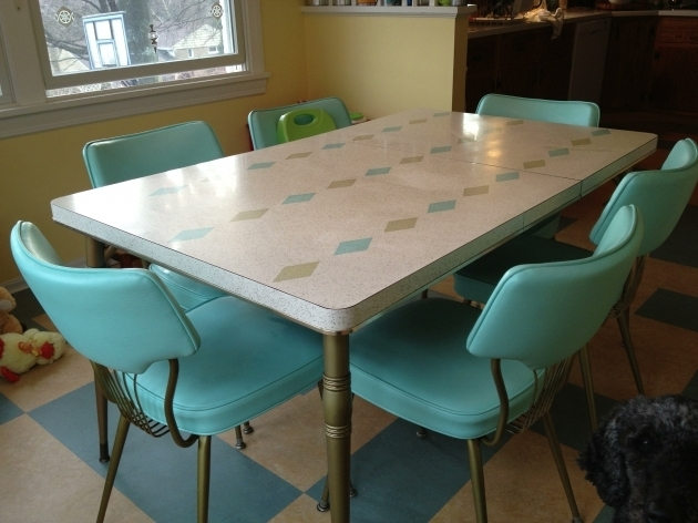 Retro Turquoise Kitchen Chairs Ideas Image 77