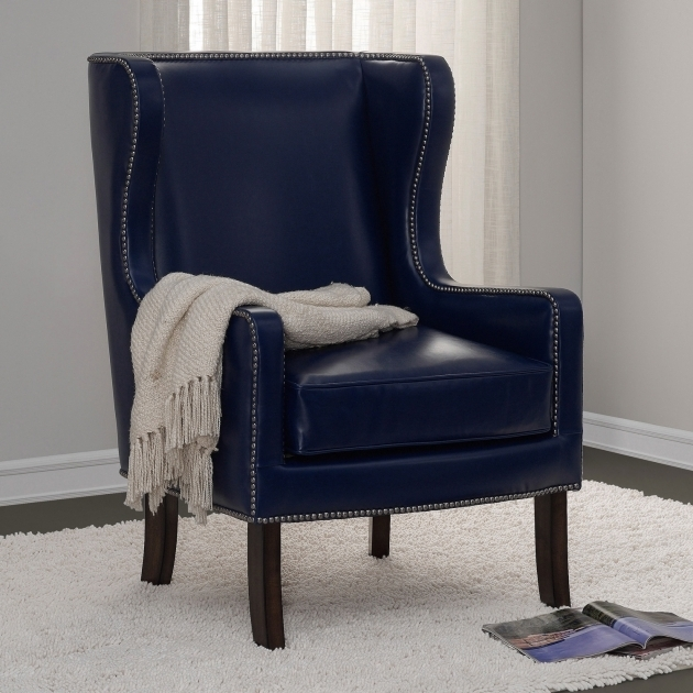 Small Blue Leather Club Chair Recliner The Buttkicker Photos 44