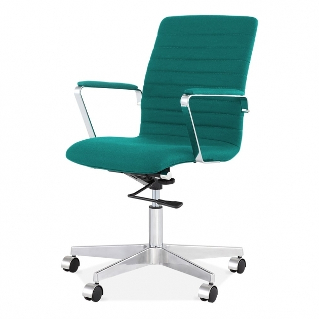 Teal Office Chair Cult Living Barclay Ribbed In Cashmere Cult Uk Photo 86