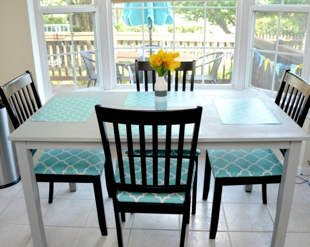 Turquoise Kitchen Chairs Makeover Table Photos 31