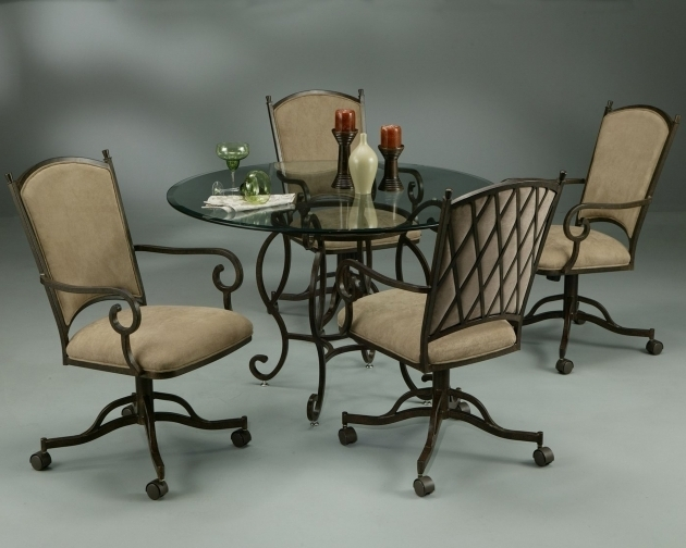 Atrium Dining Table Atrium Caster Chairs Kitchen Chairs With Rollers Photos 73