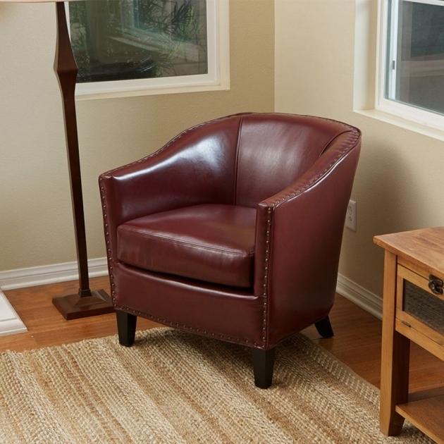 Classic Small Leather Club Chair Furniture Pictures 35