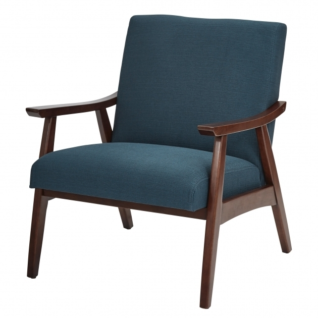 Langley Street Coral Springs Blue Accent Chair With Arms Pictures 26