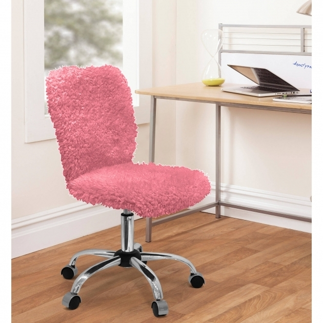 Urban Shop Faux Fur Task Chair Girls Office Chair Photos 39