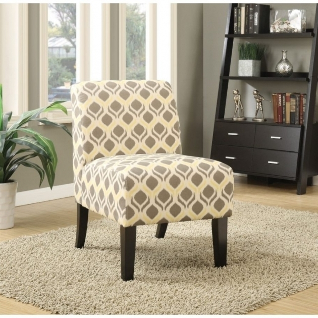 Beautiful Grey And Yellow Accent Chair Images 40