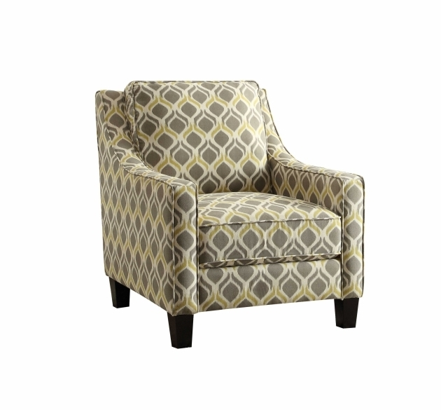 Coaster Grey And Yellow Accent Chair Pattern Pictures 81