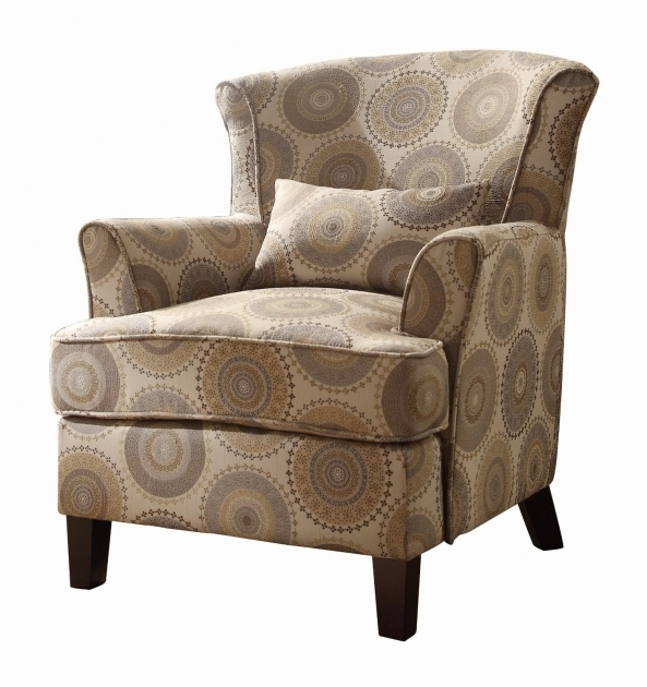 Comfortable Fabric Patterned Club Chair Images 66