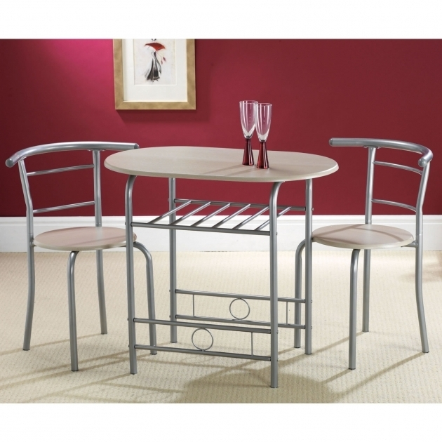 Small kitchen table with 2 chairs chair design for Small kitchen tables for two
