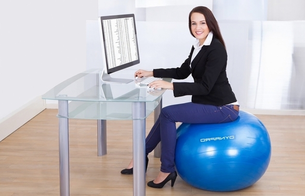 Exercise Balance Ball Office Chair Design Image 32