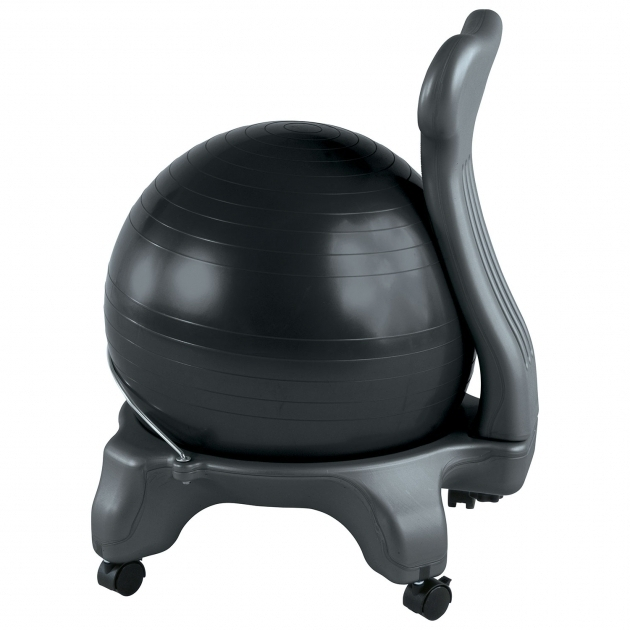 Gaiam Balance Ball Office Chair Charcoal Photos 69
