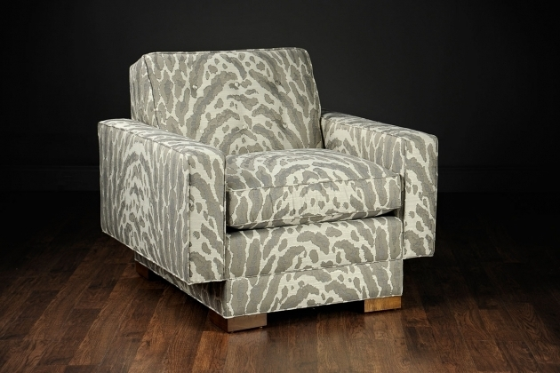 Marisa Mid Century Modern Patterned Club Chair Picture 81