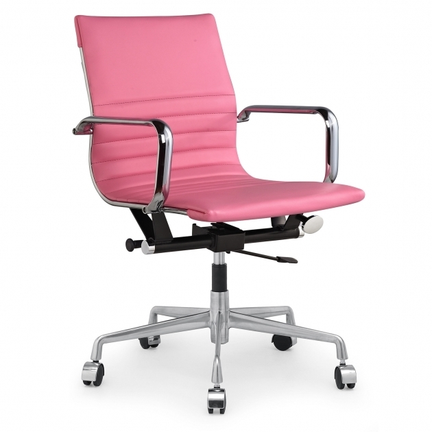 Pink Faux Leather Staples Cute Office Chairs Furniture Ideas Images 18