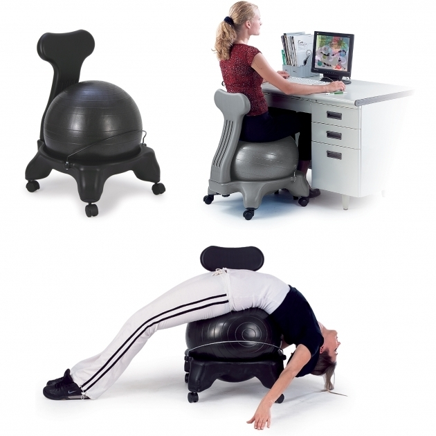 Sivan Health Fitness Balance Ball Office Chair Photos 22