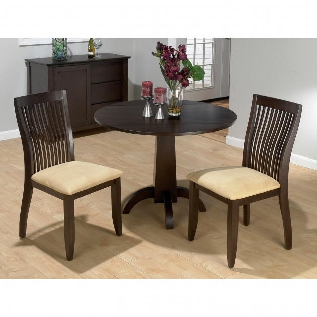 Small kitchen table with 2 chairs chair design for Two seat kitchen table
