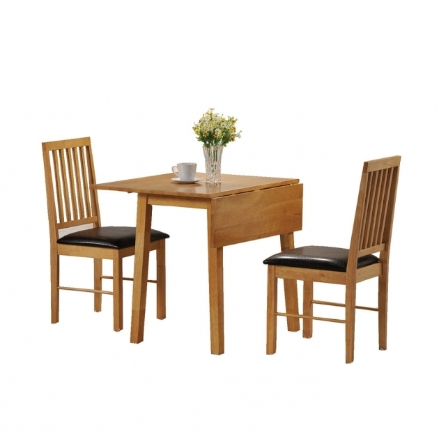 Small Kitchen Table With 2 Chairs Set Seater Drop Leaf Photos 97