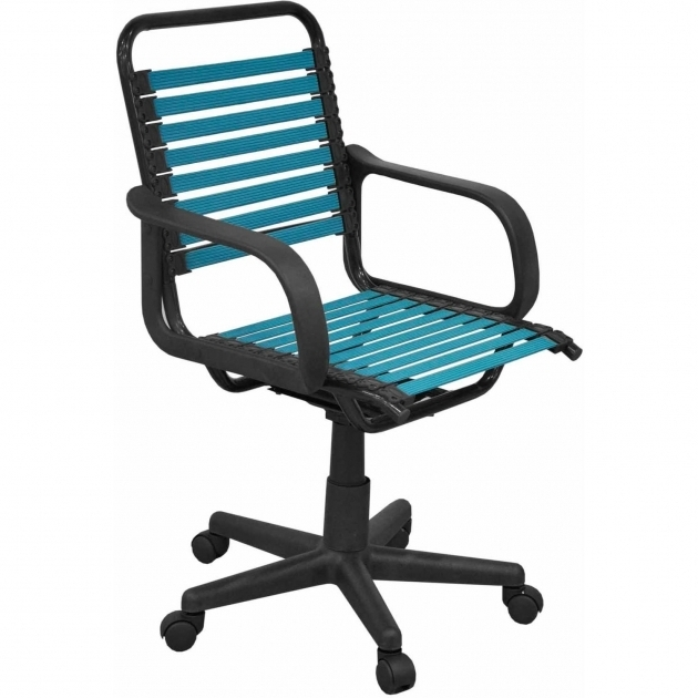 Turquiose Bungee Office Chair Pictures 63