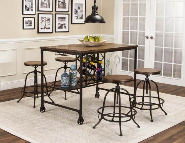 Wrought Iron Kitchen Chairs And Table Dinette Sets Images 19