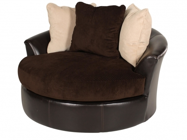Round Swivel Cuddle Chair Chair Design