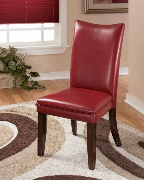 Black Upholstered Dining Chairset Ashley Red Chairs Side Dining 2 Red Images 63