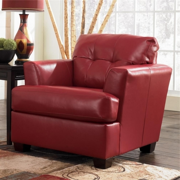 Durablend Scarlett Chair Signature Design Furniture Ashley Red Chairs Photos 36