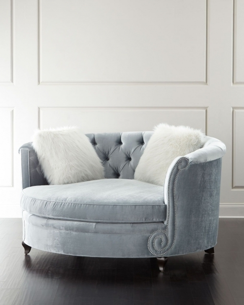 Harper Tufted Vintage Cuddle Chair Picture 71