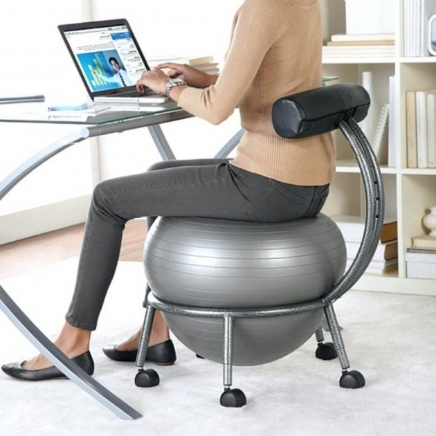 Exercise Ball Office Chair Ideas For Decorating A Desk Pictures 93