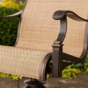 Hanover Monaco Swivel Rocker Chair